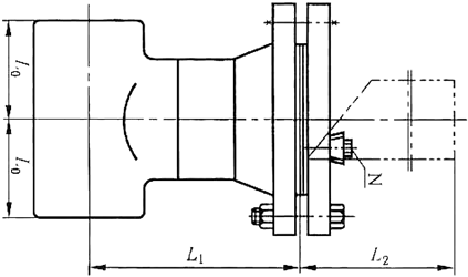 加长型直流式T型过滤器
