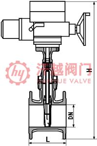Z945X电动弹性座封闸阀