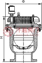 卷帘复合式排气阀