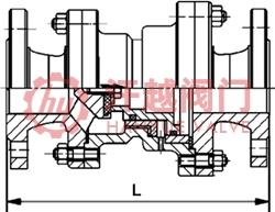 分体型比例式减压阀