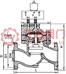 电磁液动隔膜排泥阀