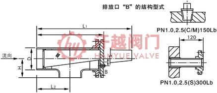 ST16C正折流式T型过滤器